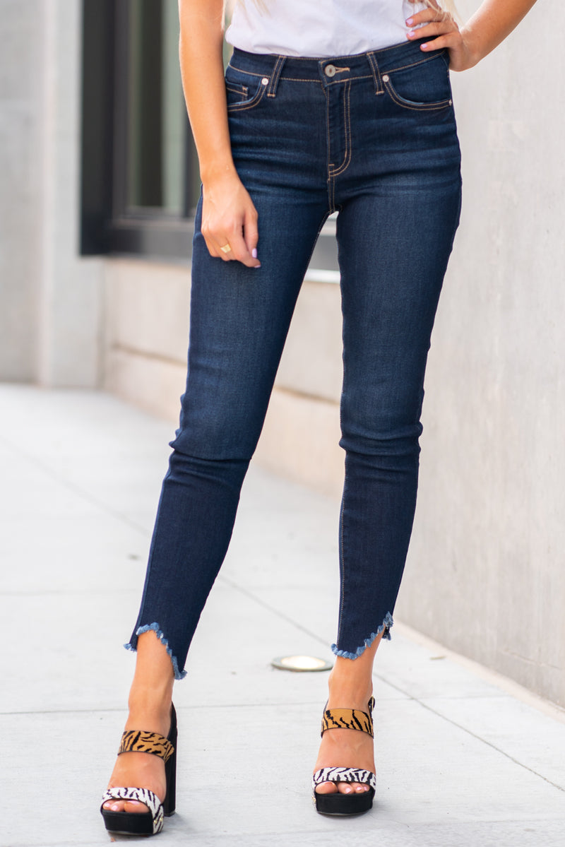 KanCan Jeans  Collection: Summer 2020 Color: Dark Wash Cut: Ankle Skinny, 27