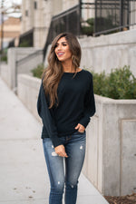 Forest Dolman Sweater