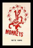 12 MONKEYS - framed movie poster 11x17 Quality Wood Frame
