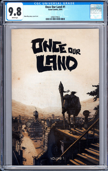 Once Our Land #1 CGC 9.8 White Pages (2016) 3700177012 Animated Movie