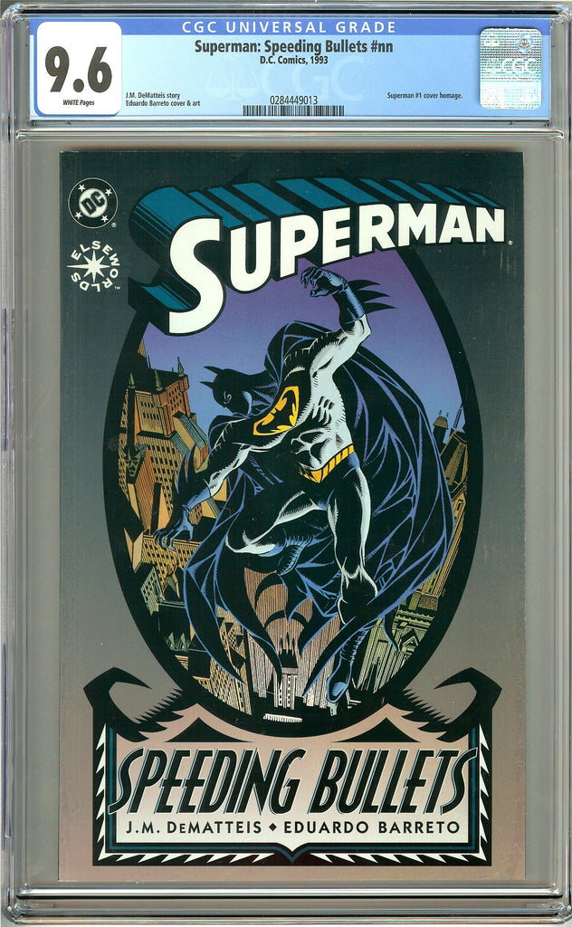 Superman: Speeding Bullets (1993) CGC 9.6 White Pages 0284449013