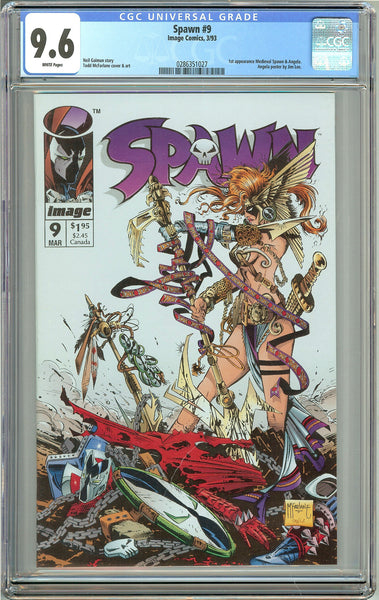 Spawn #9 (1993) CGC 9.6 White Pages 0286351027