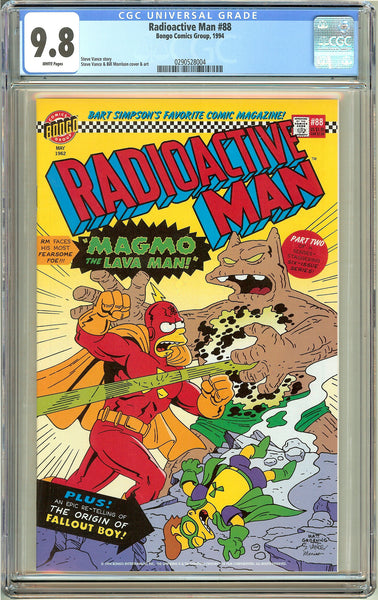 Radioactive Man #88 (1994) CGC 9.8 White Pages 0290528004
