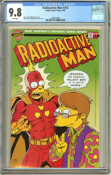 Radioactive Man #216 (1994) CGC 9.8 White Pages 0290528005