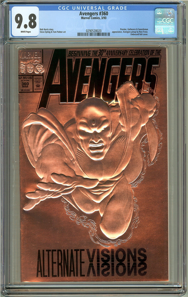 Avengers #360 (1993) CGC 9.8 White Pages 0290528020