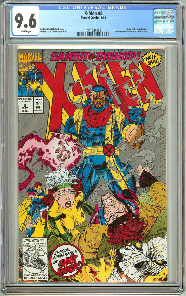 X-Men #8 (1992) CGC 9.6 White Pages 0291705008