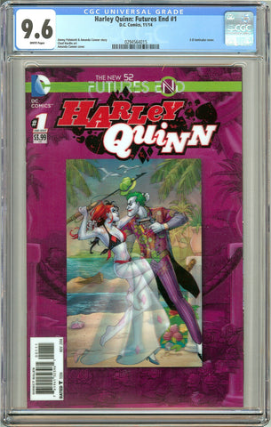 Harley Quinn: Futures End #1 (2014) CGC 9.6 White Pages 0294564015
