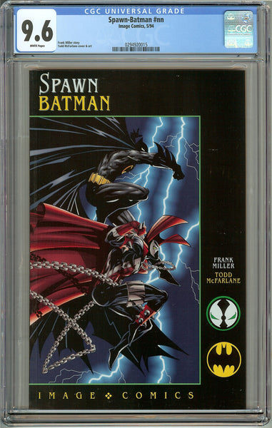 Spawn-Batman (1994) CGC 9.6 White Pages 0294920015