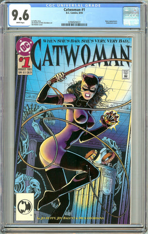 Catwoman #1 (1993) CGC 9.6 White Pages 0294920022