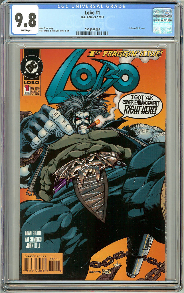 Lobo #1 (1993) CGC 9.8 White Pages 0294925008
