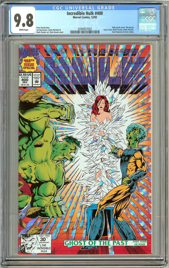 Incredible Hulk #400 (1992) CGC 9.8 White Pages 0294927002