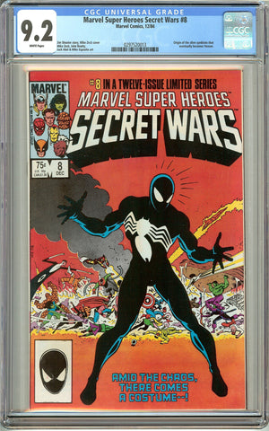 Marvel Super Heroes Secret Wars #8 (1984) CGC 9.2 White Pages 0297520013