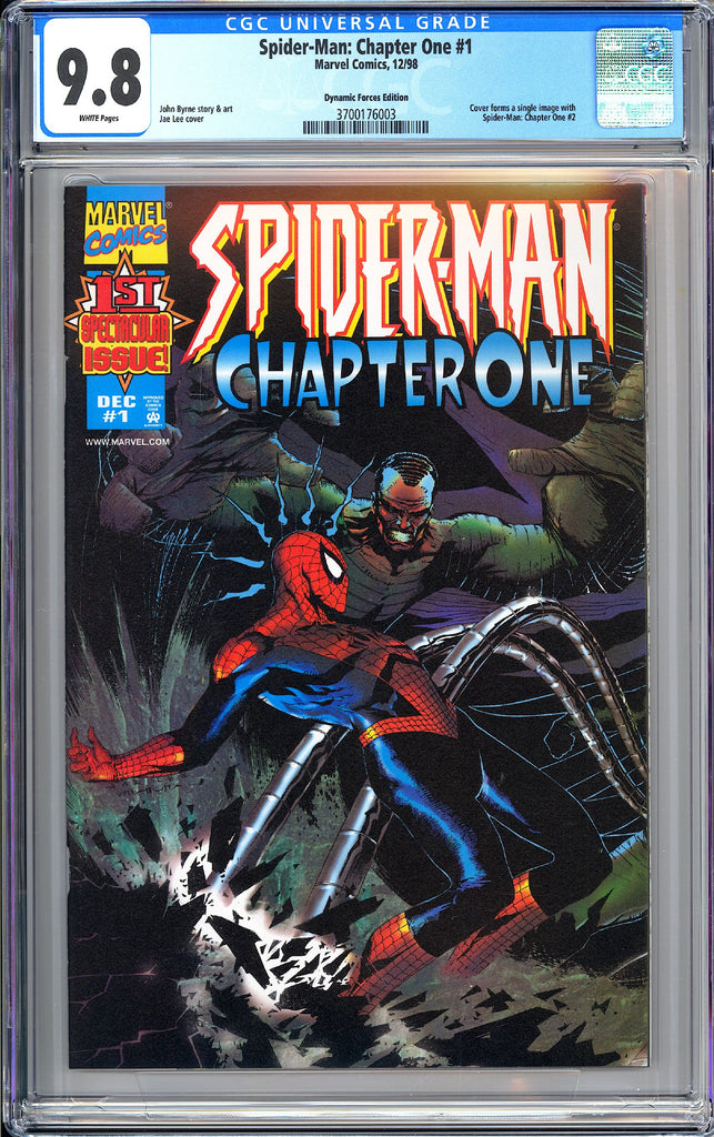 Spider-Man Chapter One #1 CGC 9.8 White Pages (1998) 3700176003 DF Edition