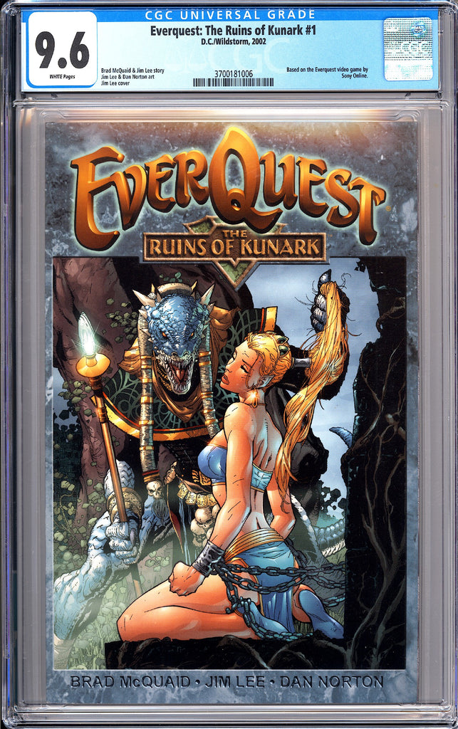 Everquest: The Ruins of Kunark #1 CGC 9.6 WP 2002 3700181006 DC/Wildstorm