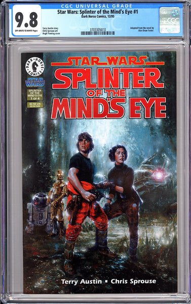 Star Wars Splinter of the Mind's Eye #1 CGC 9.8 OWT White Pages 3703305010