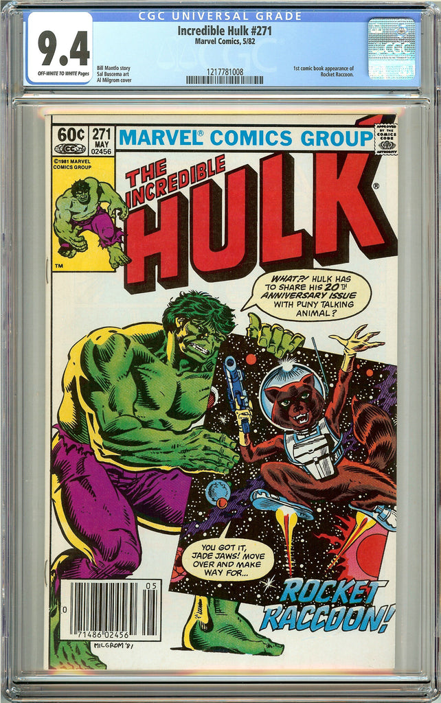 The Incredible Hulk #271 (1982) CGC 9.4 Off-White to White Pages 1217781008