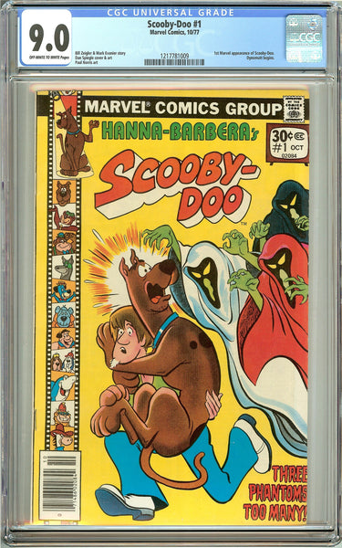 Scooby-Doo #1 (1977) CGC 9.0 Off-White to White Pages 1217781009
