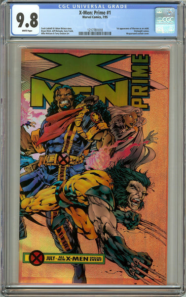 X-Men Prime #1 (1995) CGC 9.8 White Pages 1217781018