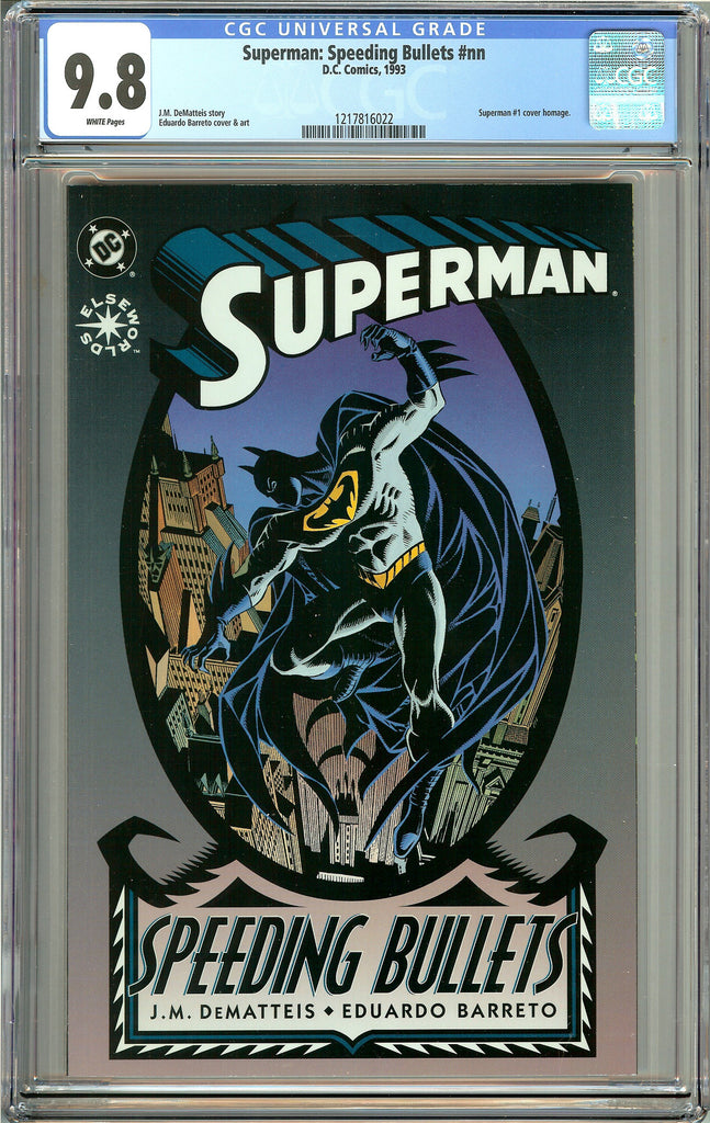 Superman: Speeding Bullets (1993) CGC 9.8 White Pages 1217816022