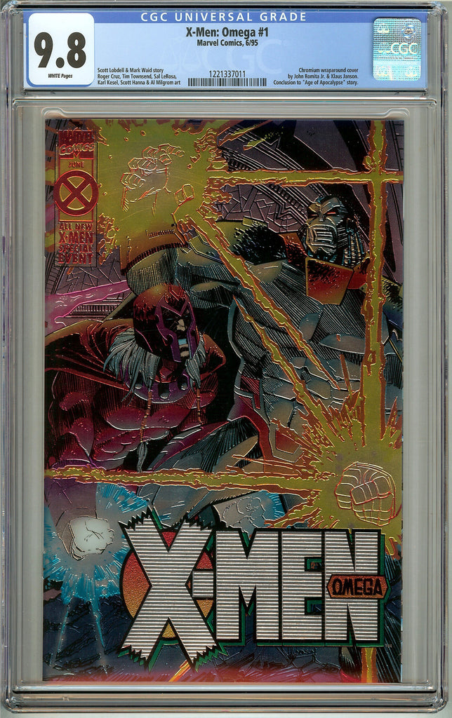 X-Men: Omega #1 (1995) CGC 9.8 White Pages 1221337011