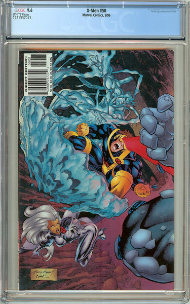 X-Men #50 (1996) CGC 9.6 White Pages 1221337013