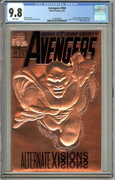 Avengers #360 (1993) CGC 9.8 White Pages 1225020022