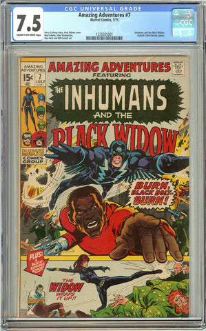 Amazing Adventures #7 (1971) CGC 7.5 CTO-White Pages 1225025001