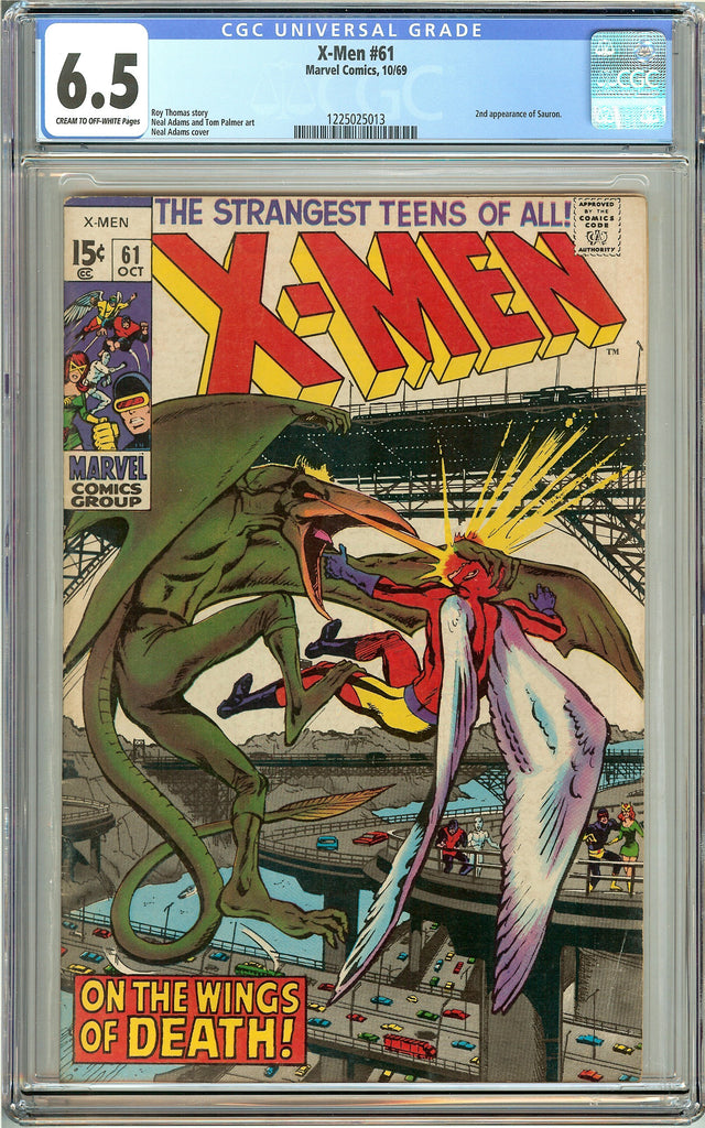 X-Men #61 (1969) CGC 6.5 CTO-White Pages 1225025013 2nd Sauron
