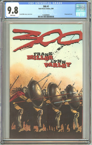 300 #1 (1998) Dark Horse CGC 9.8 White Pages 1226888001 Frank Miller