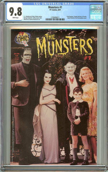 Munsters #1 (1997) CGC 9.8 White Pages 1230406011