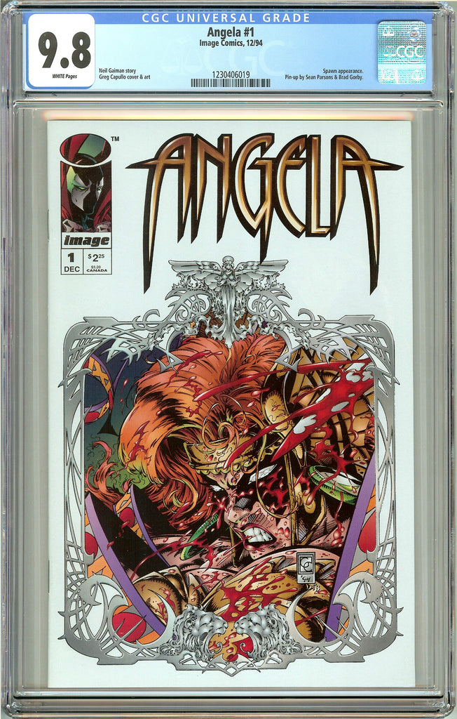 Angela #1 (1994) CGC 9.8 White Pages 1230406019