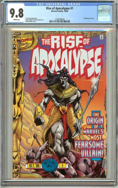 The Rise of Apocalypse #1 CGC 9.8 White Pages 1233793024