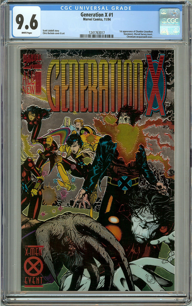 Generation X #1 (1994) CGC 9.6 White Pages 1241763017