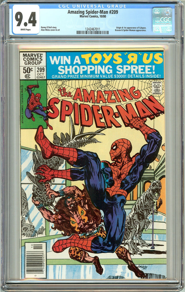 Amazing Spider-Man #209 (1980) CGC 9.4 White Pages 1242467011