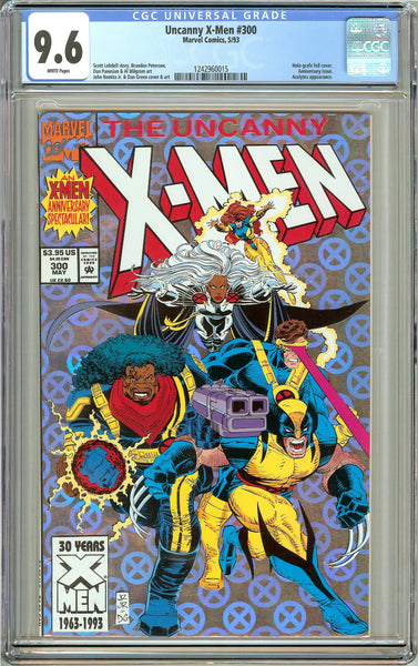 Uncanny X-Men #300 (1993) CGC 9.6 White Pages 1242960015