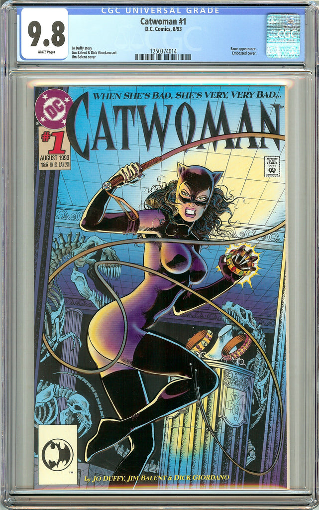 Catwoman #1 CGC 9.8 White Pages (1993) 1250374014