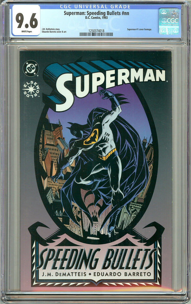 Superman: Speeding Bullets (1993) CGC 9.6 White Pages 1250374018