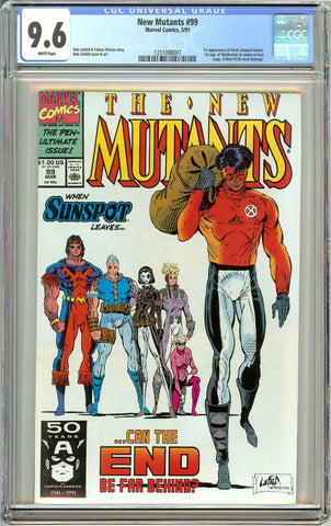 New Mutants #99 (1991) CGC 9.6 White Pages 1251098007