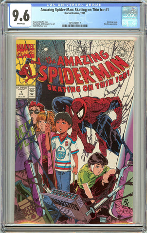 Amazing Spider-Man Skating on Thin Ice #1 CGC 9.6 White Pages 1251098017