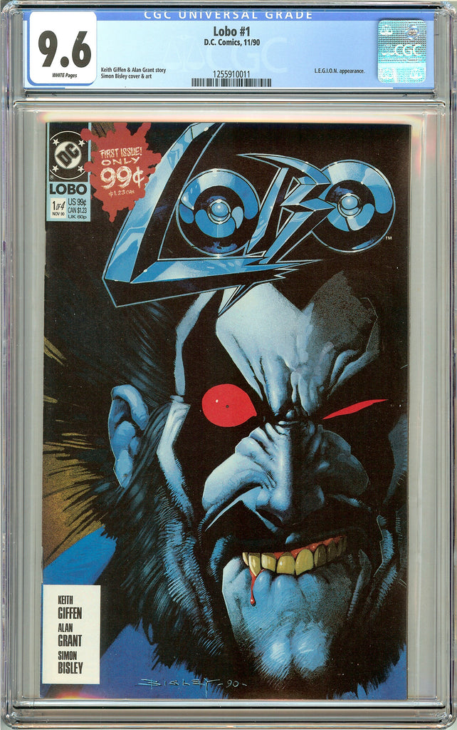 Lobo #1 (1990) CGC 9.6 White Pages 1255910011