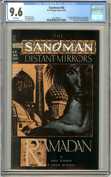 Sandman #50 (1993) CGC 9.6 White Pages 1261707012