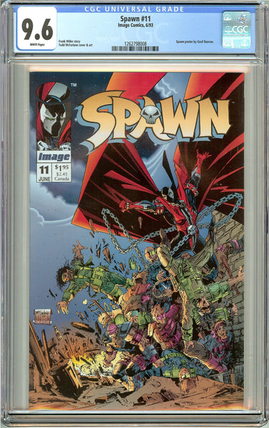 Spawn #11 (1993) CGC 9.6 White Pages 1262798008