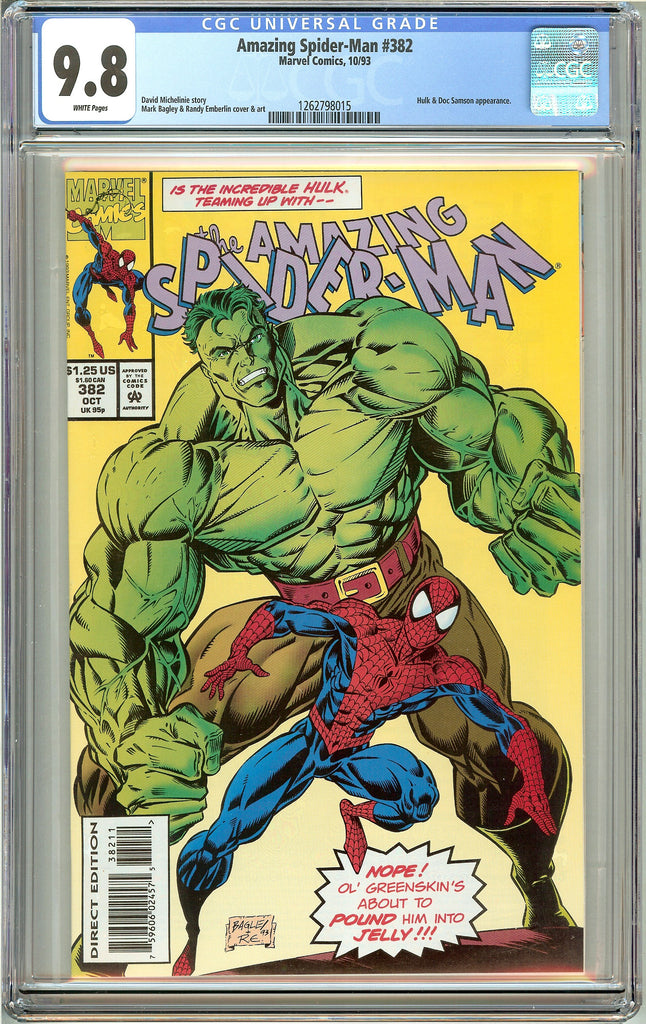 Amazing Spider-Man #382 (1993) CGC 9.8 White Pages 1262798015