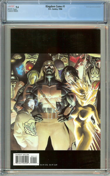 Kingdom Come #1 (1996) CGC 9.6 White Pages 1265519005
