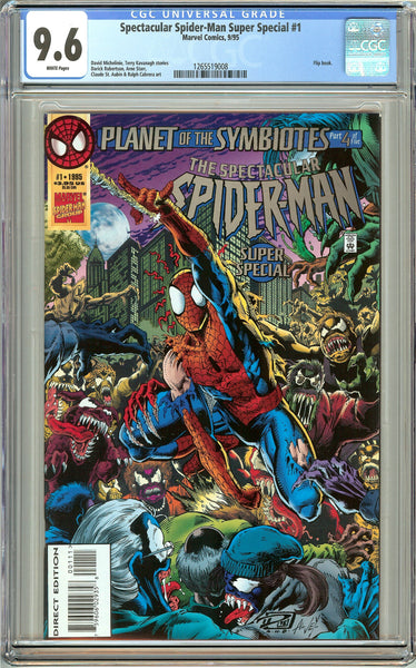 Spectacular Spider-Man Super Special #1 CGC 9.6 White Pages 1265519008