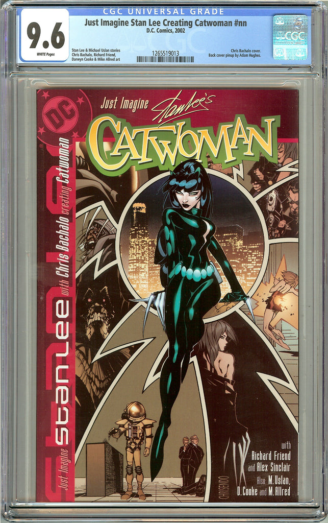 Just Imagine Stan Lee Creating Catwoman CGC 9.6 White Pages 1265519013