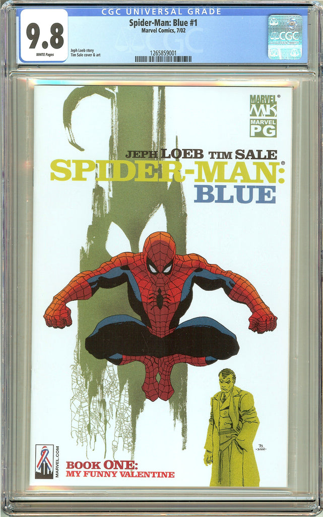 Spider-Man Blue #1 (2002) CGC 9.8 White Pages 1265859001