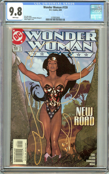 Wonder Woman #159 CGC 9.8 White Pages 1270552003 Adam Hughes cover