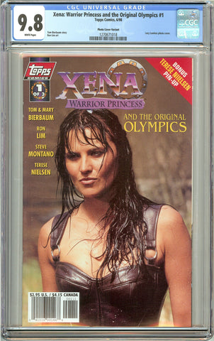 Xena Warrior Princess & the Original Olympics #1 (1998) CGC 9.8 WP 1270671018