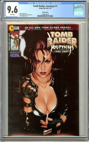 Tomb Raider Journeys #1 CGC 9.6 White Pages 1270671020 Variant Cover